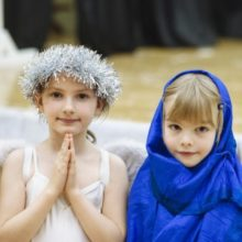 There is Room at the Inn at Prep School Nativity